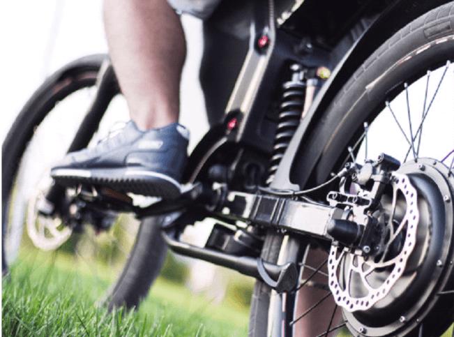 Електрическо колело със задвижваща задна главина