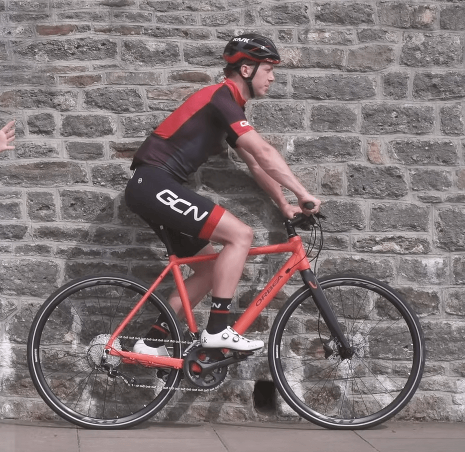 Пасивна геометрия на шосейно колело