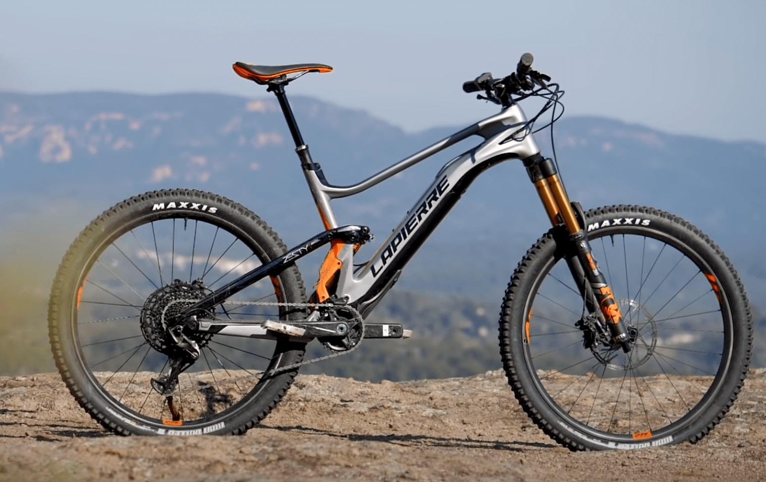 Електрическо колело с махаща се батерия Lapierre eZesty
